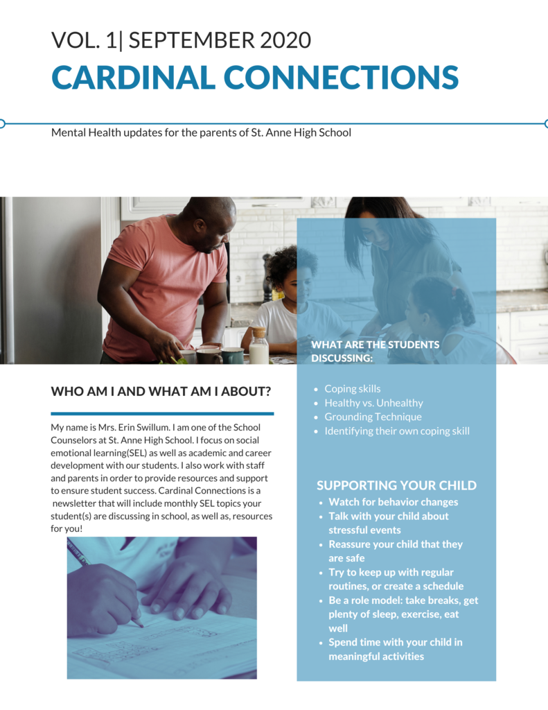 Cardinal Connections Volume 1
