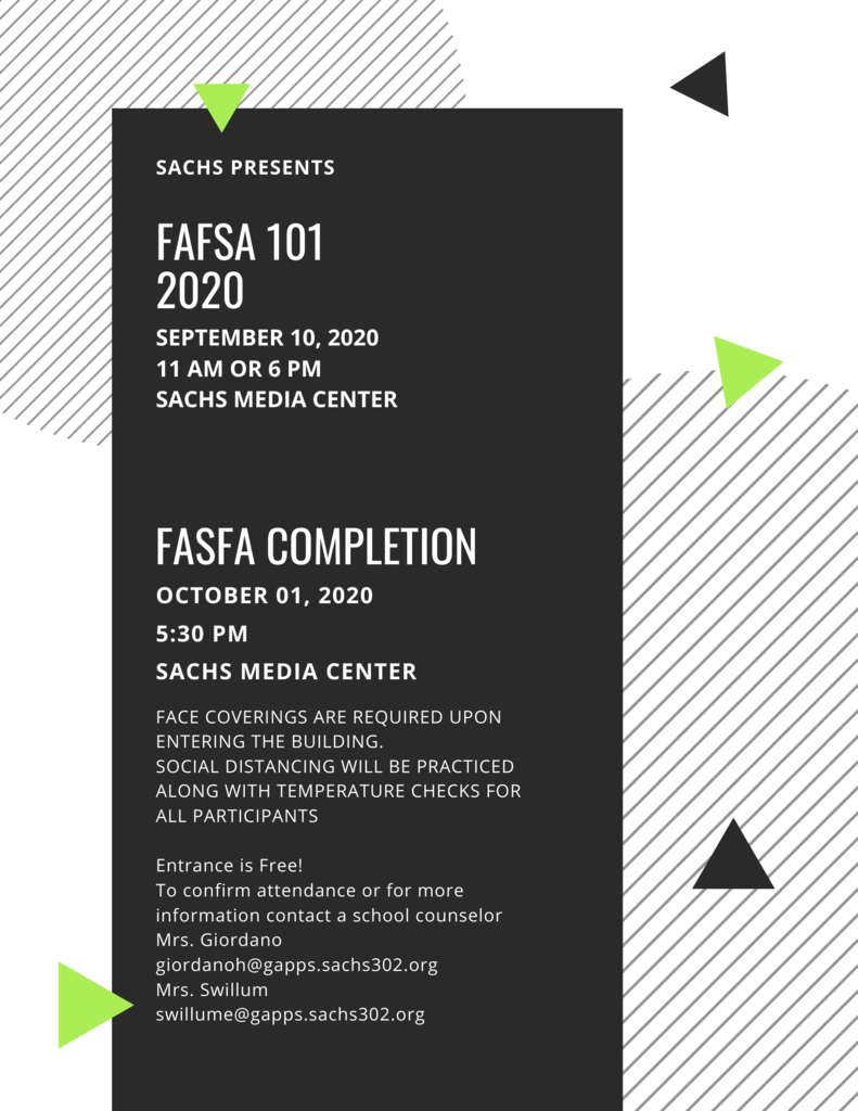 FAFSA 101 Workshop
